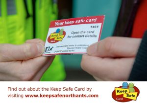Image of the keep safe card