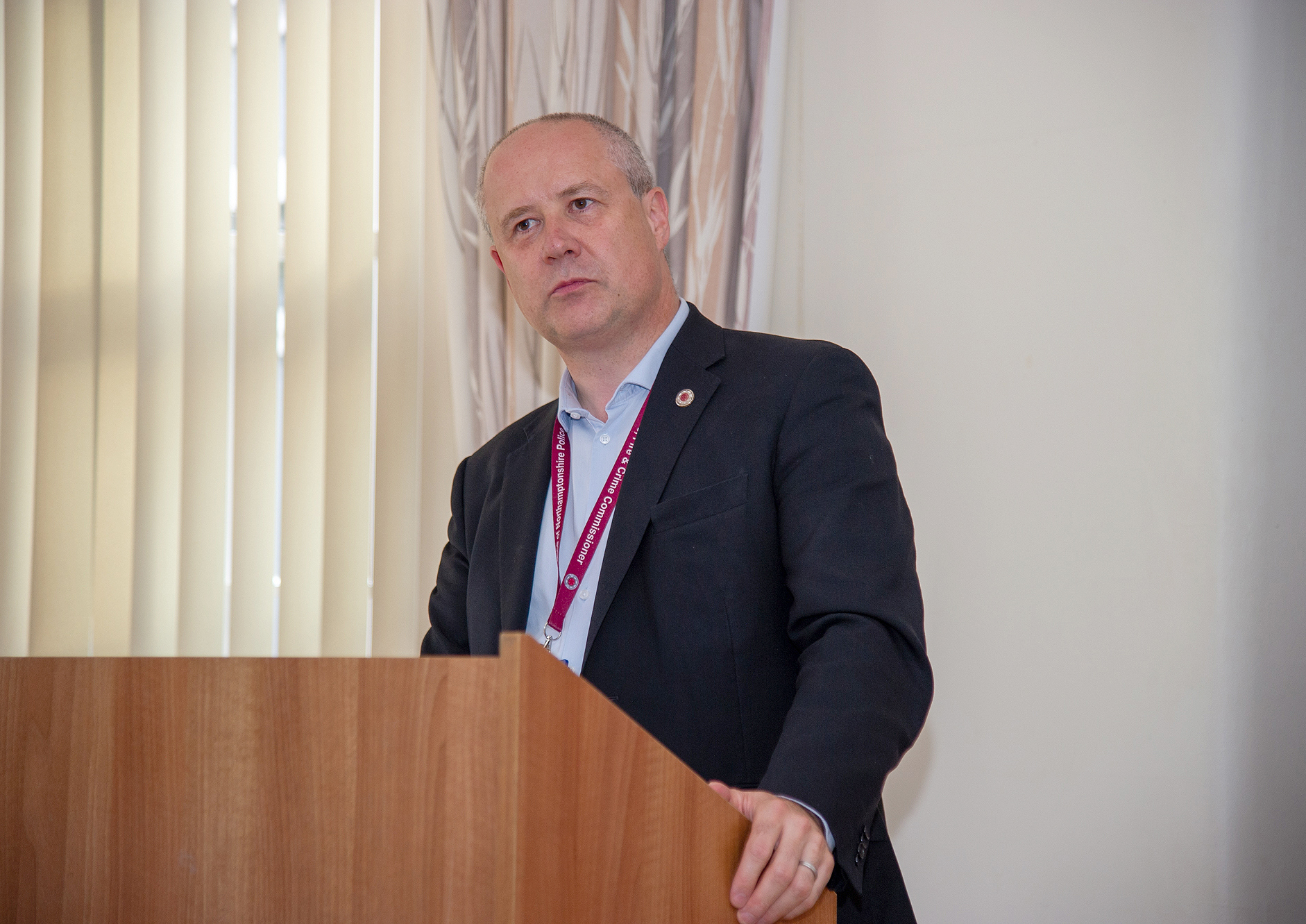 Northamptonshire Police, Fire and Crime Commissioner Stephen Mold