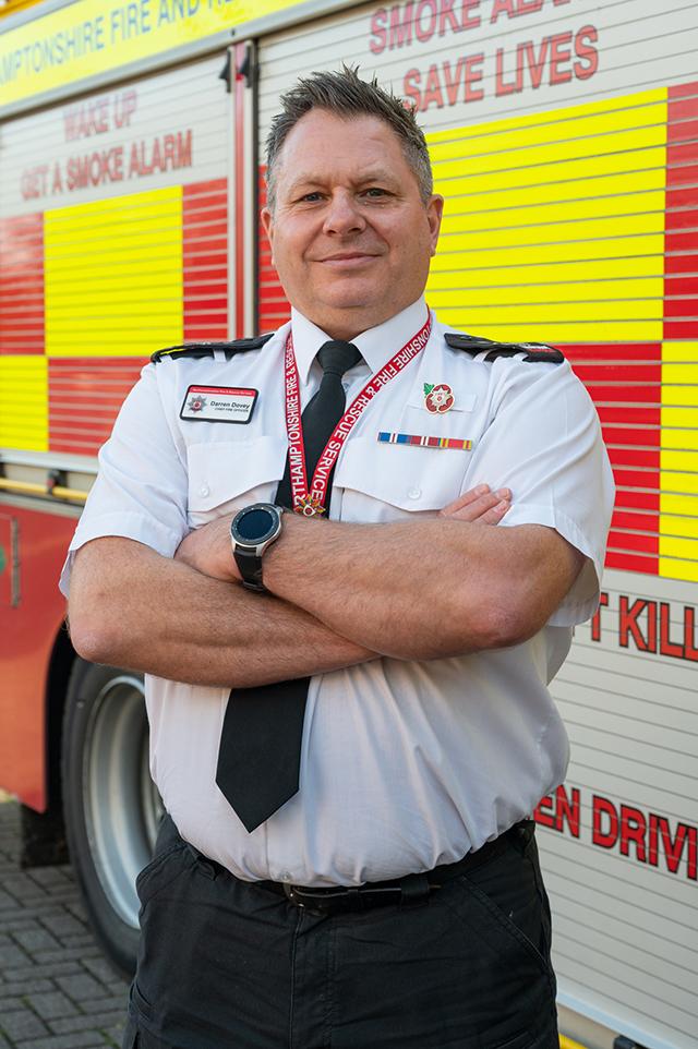 Chief Fire Officer Darren Dovey