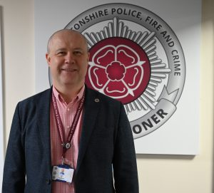 Police, Fire and Crime Commissioner Stephen Mold